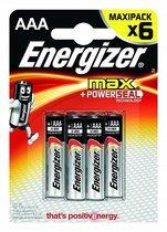 Батарейки Energizer MAX E92/AAA1,5V - 6 шт. - Energizer