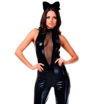 Костюм чёрной кошки, цвет черный, S-M - Le Frivole