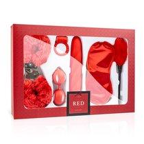 Эротический набор I Love Red Couples Box, цвет красный - EDC Wholesale