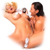Набор электростимуляторов Shock Therapy Kit, цвет белый - Pipedream