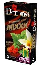 """Ароматизированные презервативы DOMINO """"Ароматный микс"""" - 6 шт. - LUXLITE"""