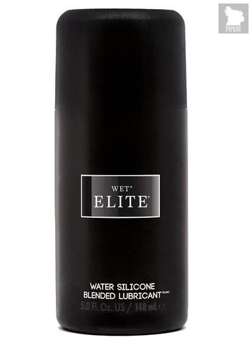 Водно-силиконовый интимный лубрикант Wet Elite - 148 мл. - Wet
