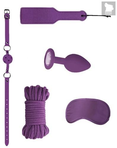 Фиолетовый игровой набор Introductory Bondage Kit №5, цвет фиолетовый - Shots Media