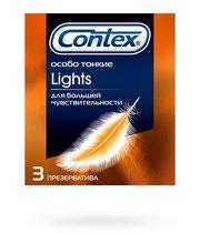 Презервативы Contex Lights максимально чувствительные - CONTEX