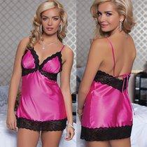 Сорочка Enchanting Chemise, с трусиками, цвет розовый, M - Seven`til Midnight