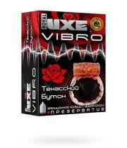 Презервативы Luxe VIBRO Техасский бутон + виброкольцо, 1 шт. - LUXLITE