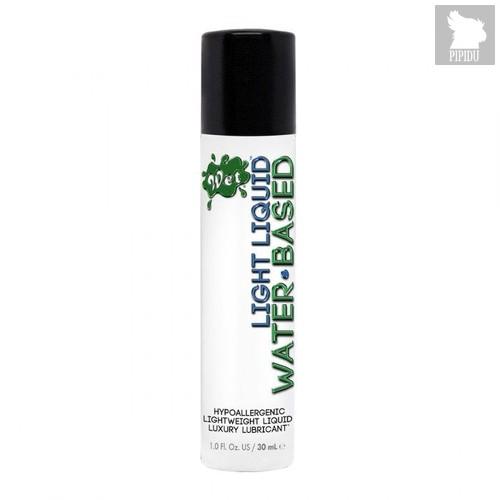 Лубрикант для чувствительной кожи Wet Light Liquid Lubricant - 30 мл. - Wet
