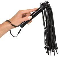 Многохвостная плеть Flogger, цвет черный - ORION