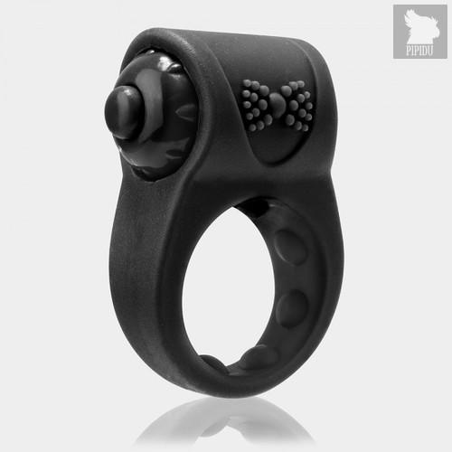 Screaming O Виброкольцо PrimO Tux черное, цвет черный - Screaming O
