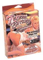 Надувная секс-кукла Tereza Barkley с 3 любовными отверстиями, цвет телесный - Nanma (NMC)