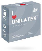 Презервативы Unilatex - Ribbed с кольцами, 3 шт. - Unilatex