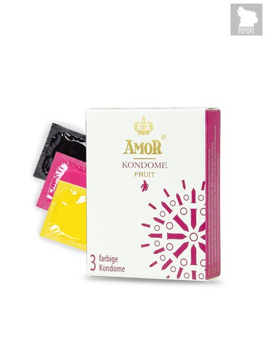 Презервативы Amor Fruit №3 3927AM - Amor
