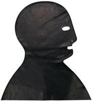Латексная маска-шлем Executioner с прорезями, цвет черный, L - Latexas