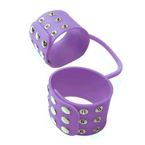 Наручники Pipedream Silicone Cuffs, цвет сиреневый - Pipedream