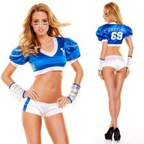 """Игровой костюм """"Американский футбол"""", цвет синий, M-L - Hustler Lingerie"""