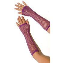 Перчатки Long Fishnet Gloves в сетку - Electric Lingerie
