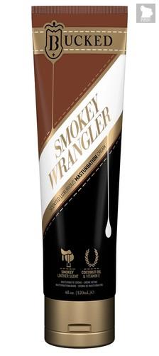 Крем для мастурбации Bucked Smokey Wrangler с ароматом сыромятной кожи - 120 мл. - System JO