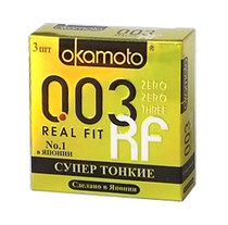 Презервативы OKAMOTO Real Fit No3 - Okamoto