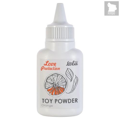 Пудра для игрушек ароматизированная Love Protection Orange 15g 1829-00Lola - Lola Toys