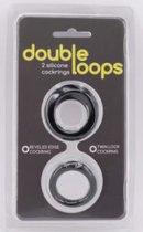 Набор из 2 эрекционных колец Double Loops - Seven Creations