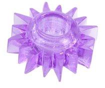 Фиолетовое эрекционное кольцо, цвет фиолетовый - Toyfa