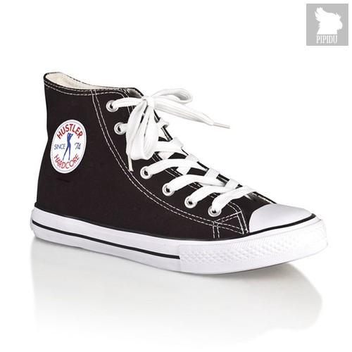 Женские кеды Hustler Classic High Top, цвет черный, 37 - Hustler Shoes