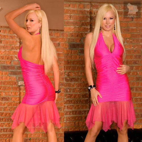 Клубное платье Dance, цвет розовый, S-L - Electric Lingerie