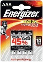 Батарейки Energizer MAX E92/AAA 1,5V - 4 шт. - Energizer