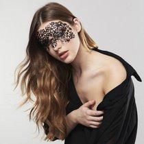 Ажурная виниловая маска на глаза DALILA, цвет черный - Bijoux