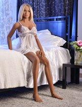 Реалистичная кукла блондинка Kitty Pipedream Extreme Toyz Ultimate Fantasy Dolls Kitty, цвет телесный - Pipedream