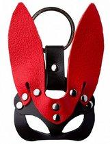 Черно-красный сувенир-брелок «Кролик», цвет красный/черный - Подиум
