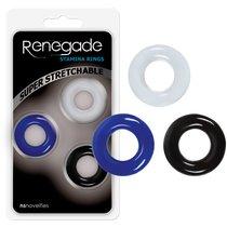 Набор эрекционных колец Renegade - Stamina Rings, цвет разноцветный - NS Novelties