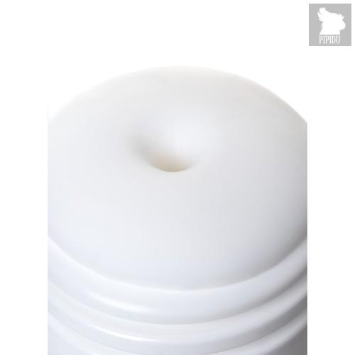 Нереалистичный мастурбатор Tumbler Spiral, цвет белый - Men's max