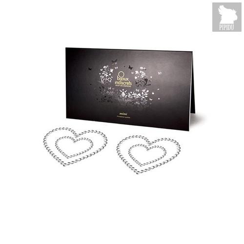 Bijoux Украшение на грудь Mimi Heart - Silver, цвет серебряный - Bijoux Indiscrets