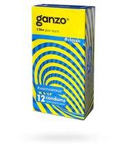 Презервативы Ganzo Classic №3, 12 шт. - Ganzo
