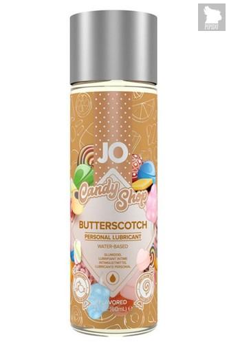Смазка на водной основе Candy Shop Butterscotch с ароматом ирисок - 60 мл. - System JO