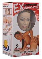 Реалистичная секс-кукла EXTRAVAGANZA LEXI TYLER, цвет телесный - Nanma (NMC)