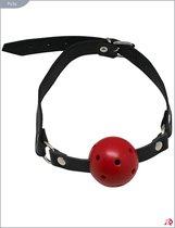 Кожаный кляп с шариком - Подиум