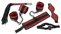 Красно-набор из 5 предметов для БДСМ-игр, цвет красный - ORION
