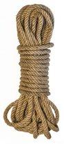 Веревка для связывания Beloved - 10 м., цвет бежевый - Lola Toys