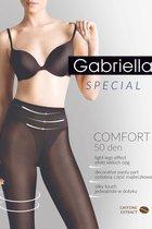 Утягивающие в бедрах и талии колготки с кофейным экстрактом Comfort, цвет черный, 2 - Gabriella