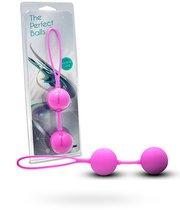 Вагинальные шарики The Perfect Balls, цвет розовый - Seven Creations