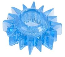 Голубая гелевая насадка-солнце, цвет голубой - Toyfa