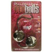 Вагинальные шарики Erotic Duo Balls, цвет коричневый - Seven Creations