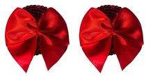 Красные пэстисы Blaze с бантиками, цвет красный - Lola Lingerie