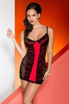 Сорочка Karmina chemise, цвет красный/черный, S-M - Avanua