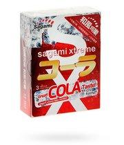 Презерватив Sagami Xtreme Cola со вкусом колы, 3 шт. - Sagami