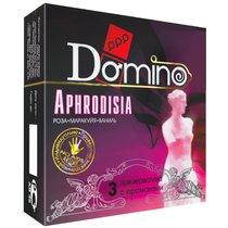Ароматизированные презервативы Domino Aphrodisia - 3 шт. - LUXLITE