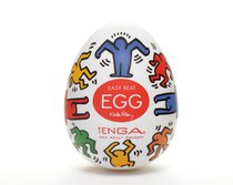 Мастурбатор-яйцо Keith Haring EGG DANCE - Tenga