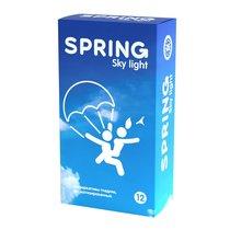 Ультратонкие презервативы SPRING SKY LIGHT - 12 шт. - Spring